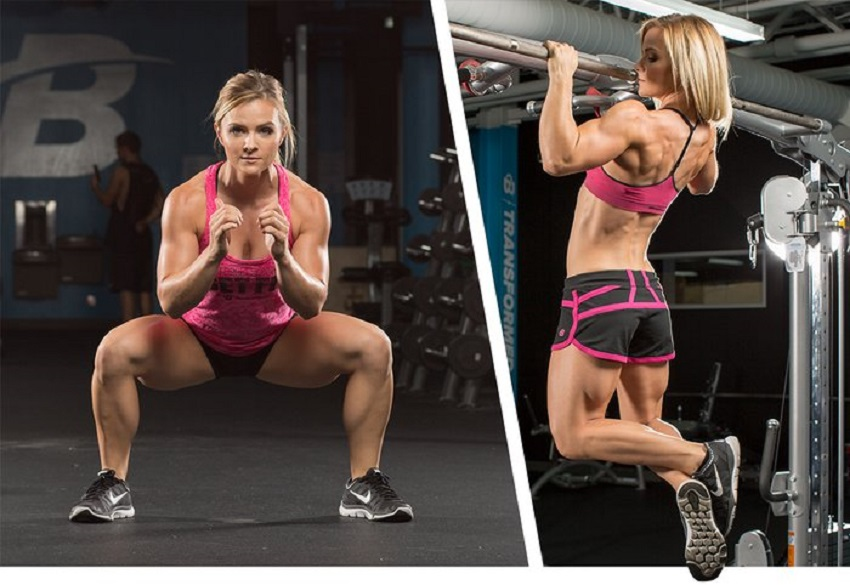 gain muscle mass for skinny females